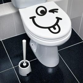 Vinilo Tapa WC Guiño