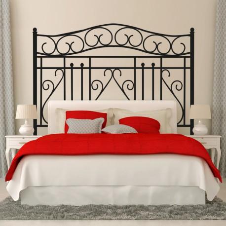 Vinilo cabecero cama cl sico for Vinilo cabecero cama