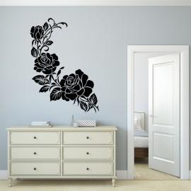 Vinilo Flores y Espirales