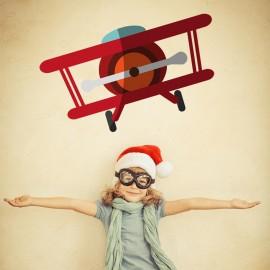 Vinilo Avión Infantil