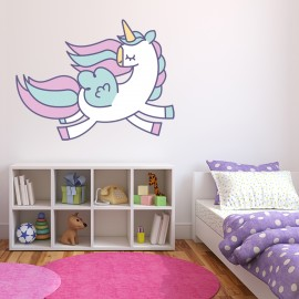 Vinilo Unicornio Decorativo