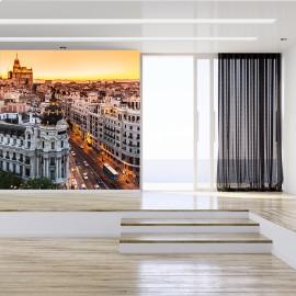 Fotomural Madrid Gran Vía