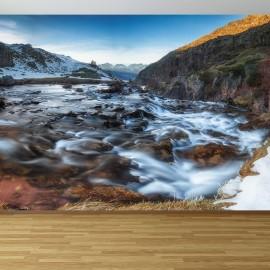 Fotomural Cascada Pirineo