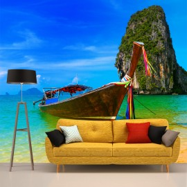 Fotomural Playa y Mar de Vietnam