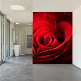 Fotomural Rosa Roja