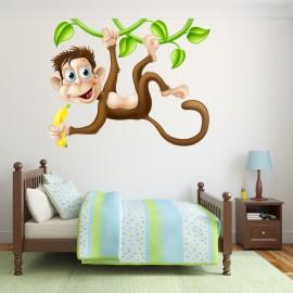 Vinilo Decorativo Infantil Mono