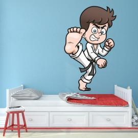 Vinilo Infantil Karate