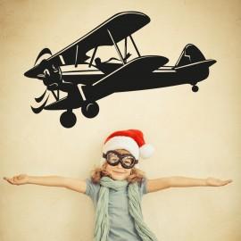 Vinilo Avioneta Infantil