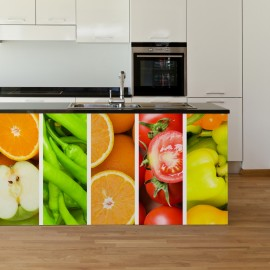 Vinilo de Frutas y Verduras para la cocina
