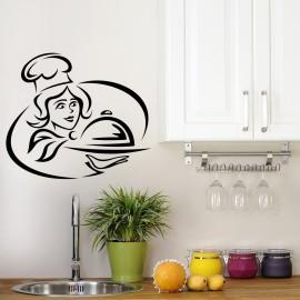 Vinilo Salpicadero Cocina Chef