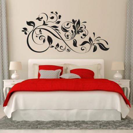 Vinilo decorativo ornamental para cabecero de cama Vinilo cabecero cama