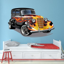 Vinilo Infantil Hot Wheels